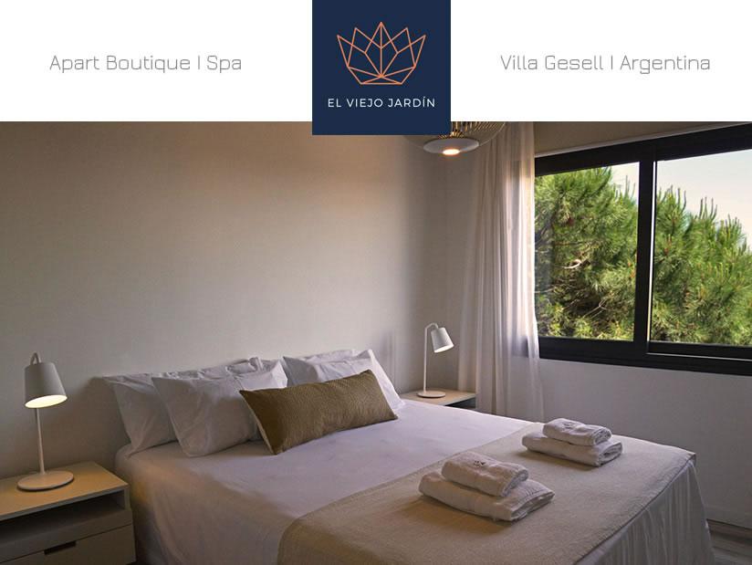Alquilo Apart Hotel El Viejo Jardin en Villa Gesell.