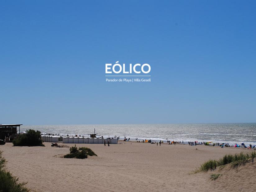 Eolico: Parador y Balnerio en Villa Gesell zona Barrio Norte.