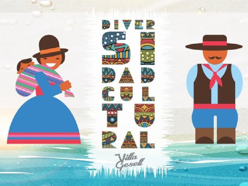 Fiesta Nacional de la Diversidad Cultural en Villa Gesell
