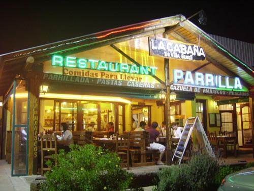 La Cabaña: restaurant en Villa Gesell.