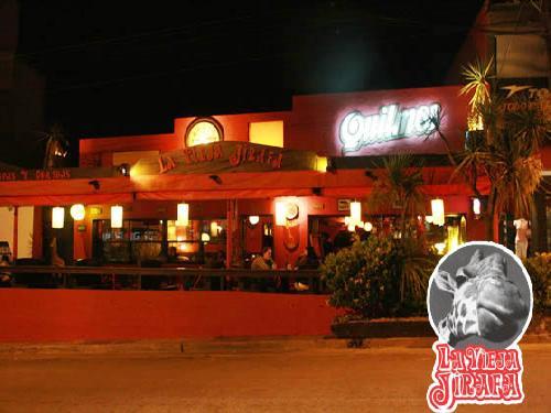 La Vieja Jirafa: cafeteria en Villa Gesell.