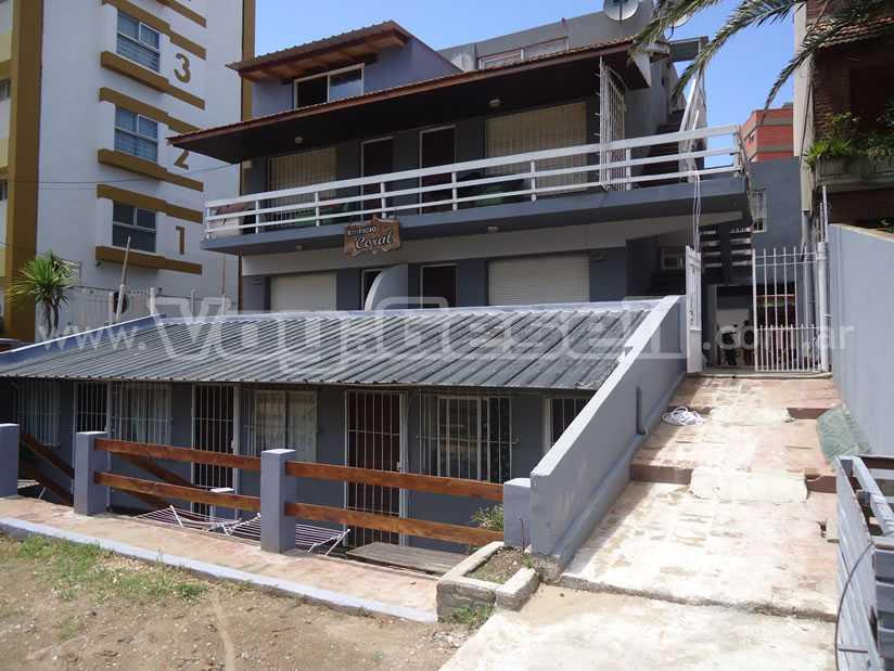 Alquilo Departamento Edificio Coral en Villa Gesell zona Barrio Norte.