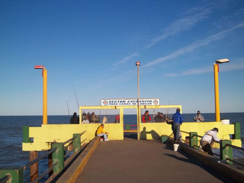 Muelle de Pescadores: Atractivo Turistico en Villa Gesell.